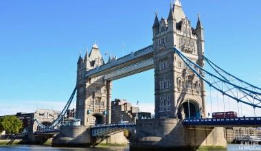 Tower Bridge depuis la Mairie de Londres