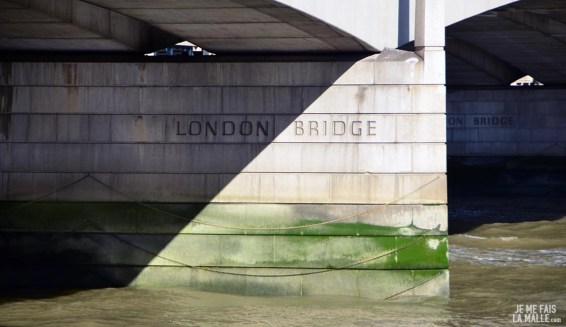 London Bridge depuis la berge