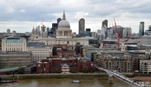 Vue du Tate Museum Londres