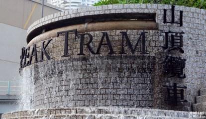Station du Peak Tram sur Hong Kong Island