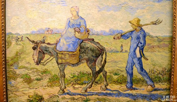 Van Gogh Sur le chemin du champ