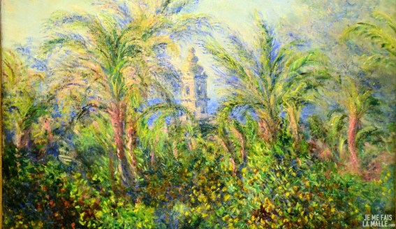 Monet Jardin de Bordighera