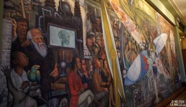 Fresque géante du Palacio de Bellas Artes