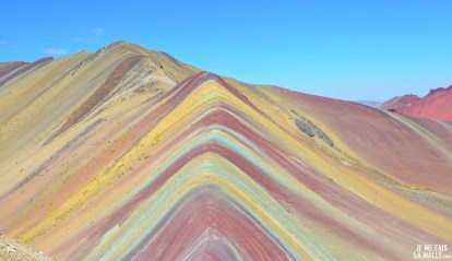 Rainbow Mountain, Pérou