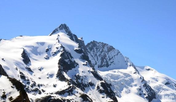 Vue sur le Grossglockner, Autriche