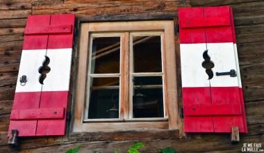Fenêtre du village du Grossglockner