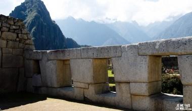 Pierres du Machu Picchu, Pérou