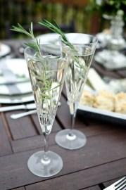 Brunch Champagne Lemonade Sparkler