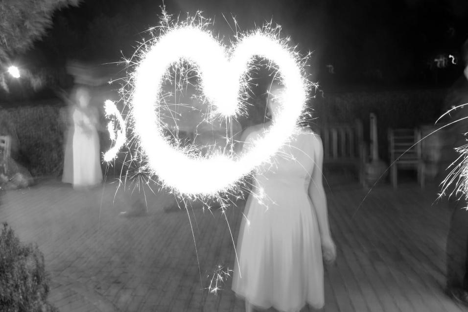 Sparkler Heart small