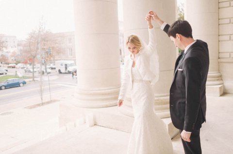 Becky & Greg: A Carnegie Science Wedding