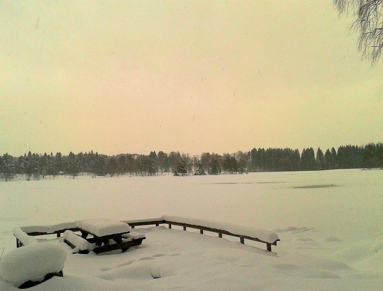 Carnet voyage Norvège : lac de sognsvann