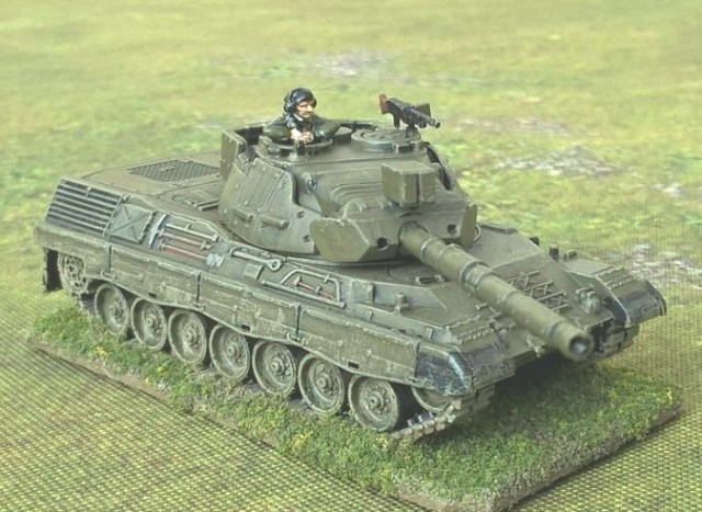 Beware of the Leopard!' (15mm Plastic Leopard 1 Tanks