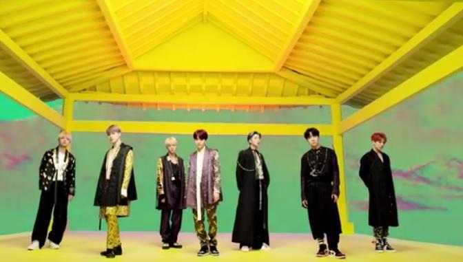 BTS-Idol-most-viewed-video