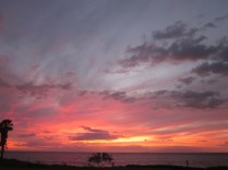 Sunset our last night at Kamaole III