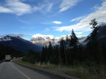 Mt. Robson on day one.
