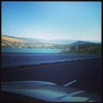 Big beautiful lake en route to Christina Lake (Kalamalka)
