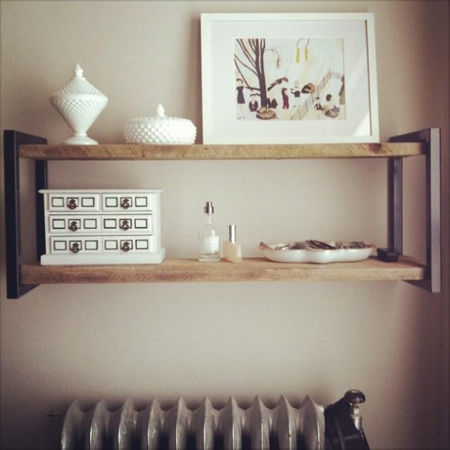Perfect Little Shelf.