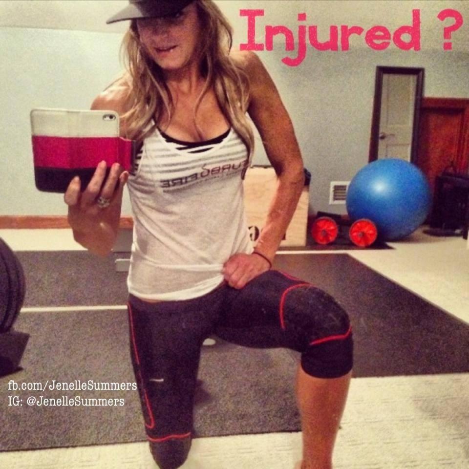 Injured Jenelle Summers