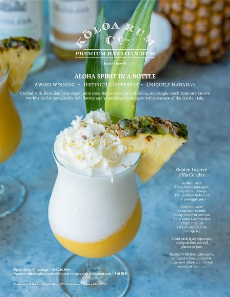 Edible Hawaiian Islands Magazine Ad