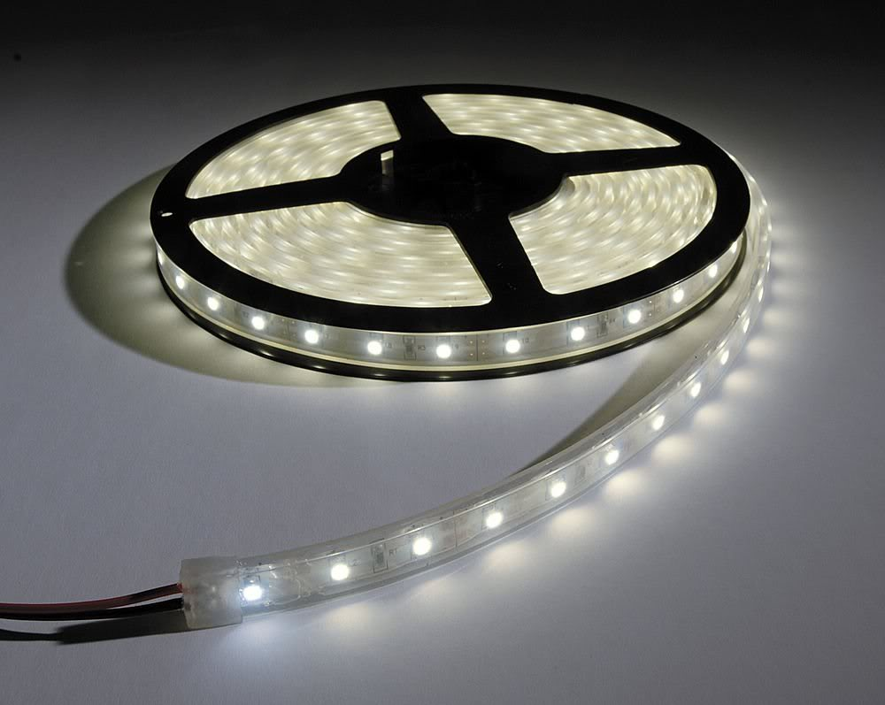 An inexpensive led add on for our fluorescent lights jeneric led light strip at home depot mozeypictures Images