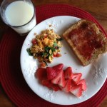 MyPlate Meal – Chicken Sausage Scramble