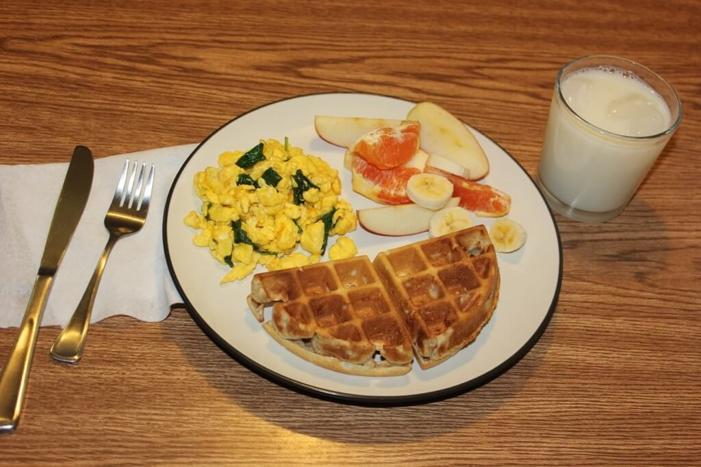 MyPlate Breakfast Meal