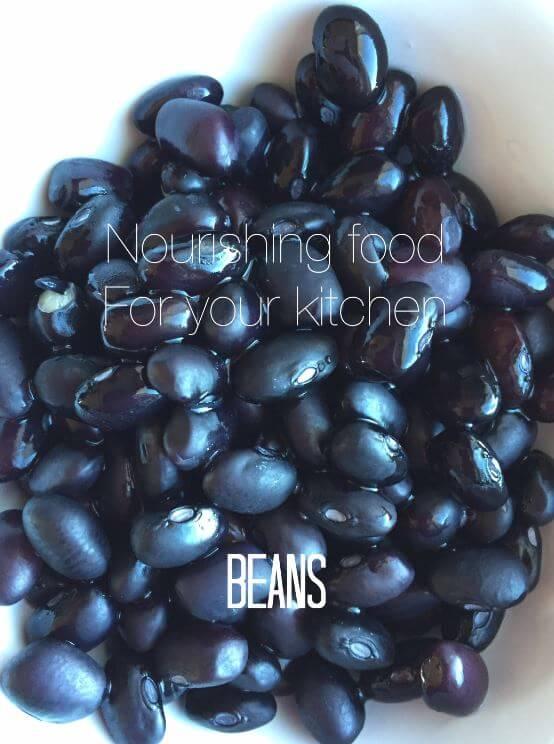 Beans Nourishing Food