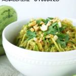 Thai Inspired Zucchini Noodles {Recipe ReDux}