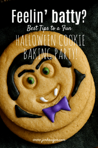 Halloween Cookie Baking Party