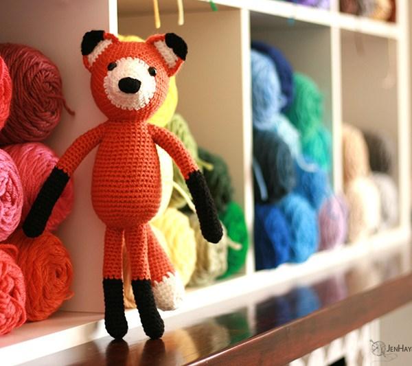 Fantastic Crochet Fox