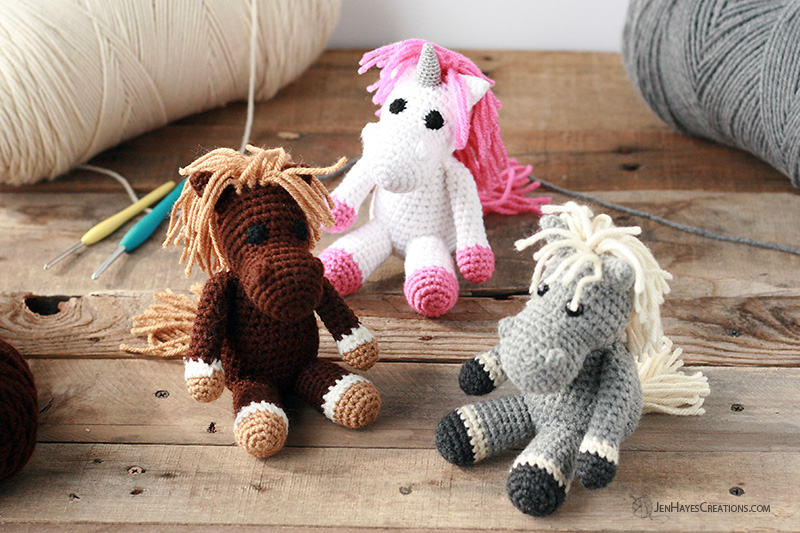 Small Animal Collection Horse Jen Hayes Creations
