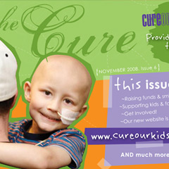 Cure Our Kids ~ stamped with meaning