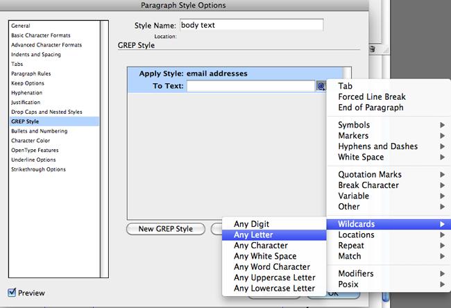 apply style: flyout menu
