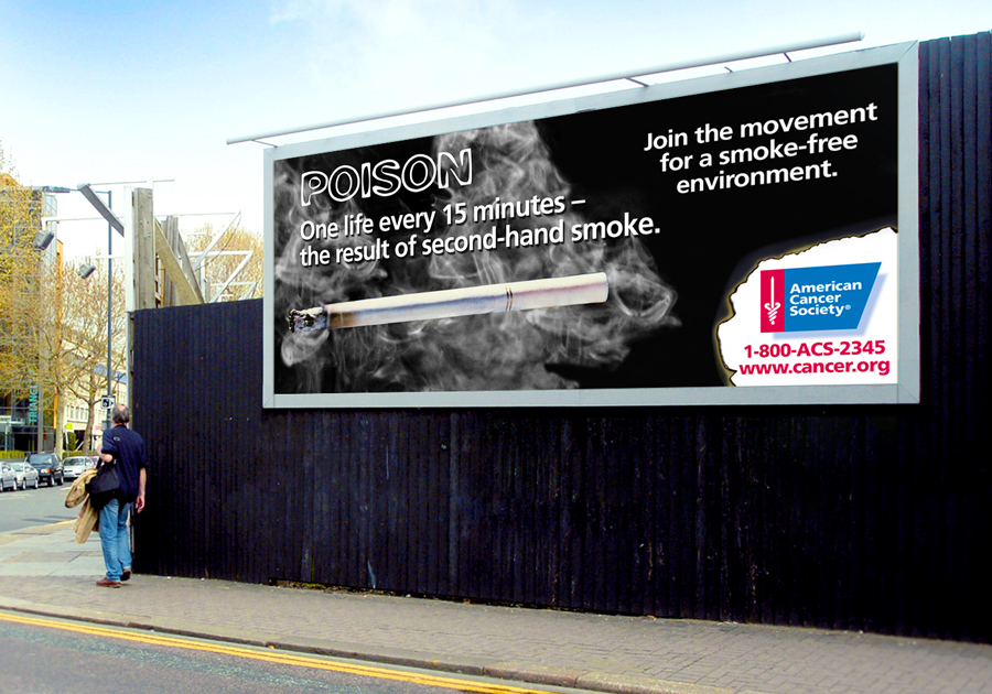 antismoking billboard