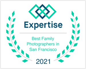 Best Family Photographer in San Francisco 2021 award badge