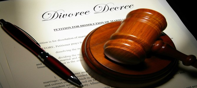 Divorce Papers Picture