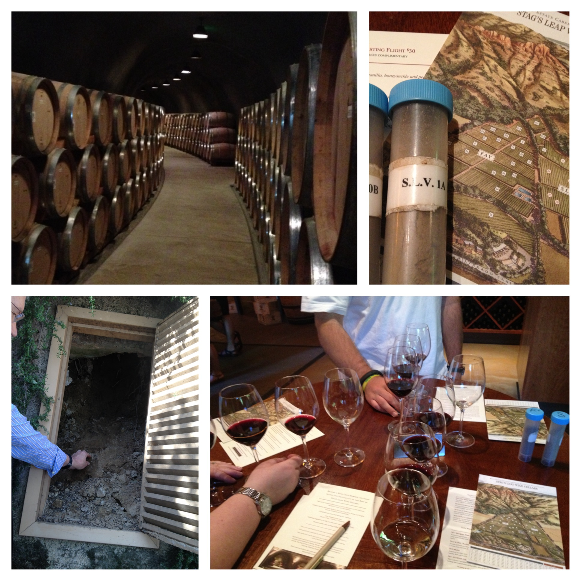 Stellar Napa Experience Stag S Leap Wine Cave Tour Wine