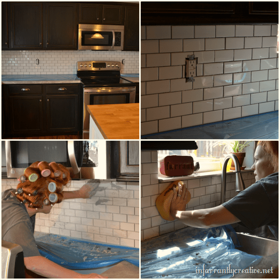 how to install a glass tile backsplash real diy tips html 4