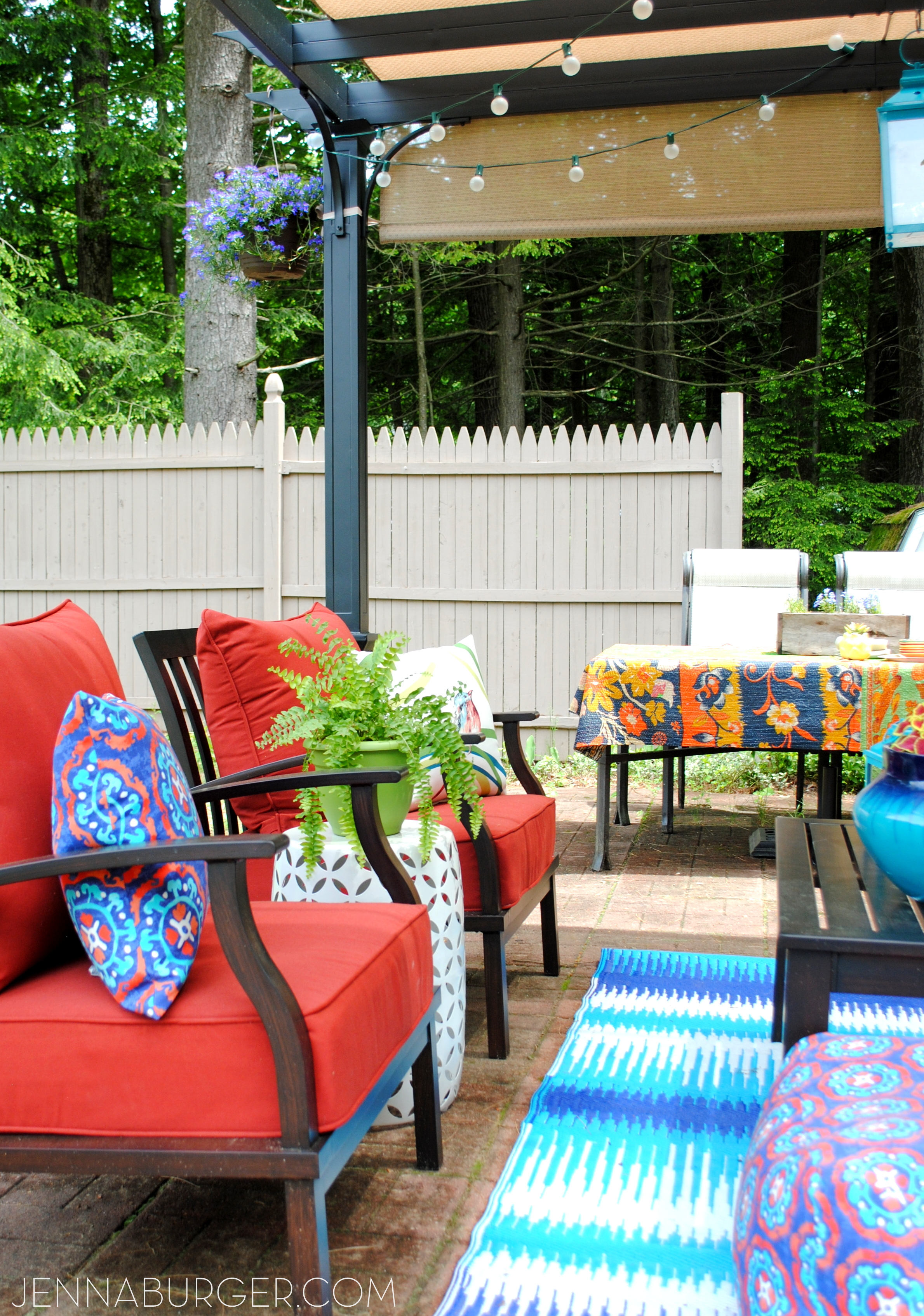 Creating an Outdoor Living Space - Jenna Burger Design LLC on Complete Outdoor Living id=80808