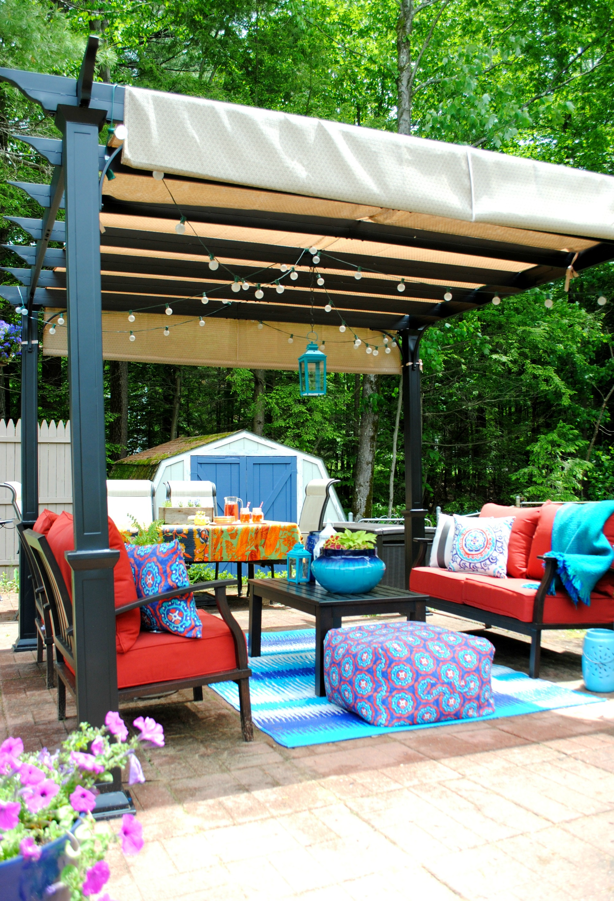 Creating an Outdoor Living Space - Jenna Burger Design LLC on Garden Living Space id=84585