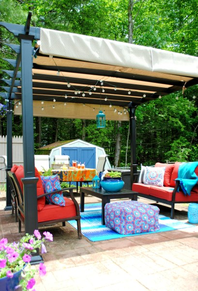 outdoor patio living Creating an Outdoor Living Space - Jenna Burger
