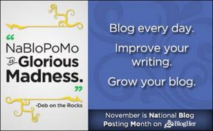 NaBloPoMo – Let the Blogging Begin…and continue