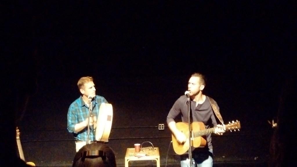 Sean and Matt in the grand finale.