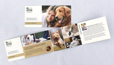 ACCES Animal Hospital specialties brochures