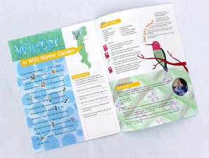 Washington Park Arboretum kids activity book