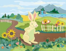 """Hop from """"Hop the Hare, the Honey and the Bear"""""""