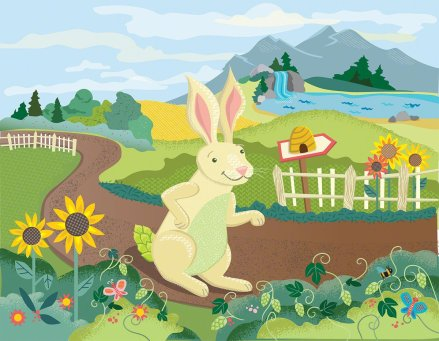 "Hop from ""Hop the Hare, the Honey and the Bear"""