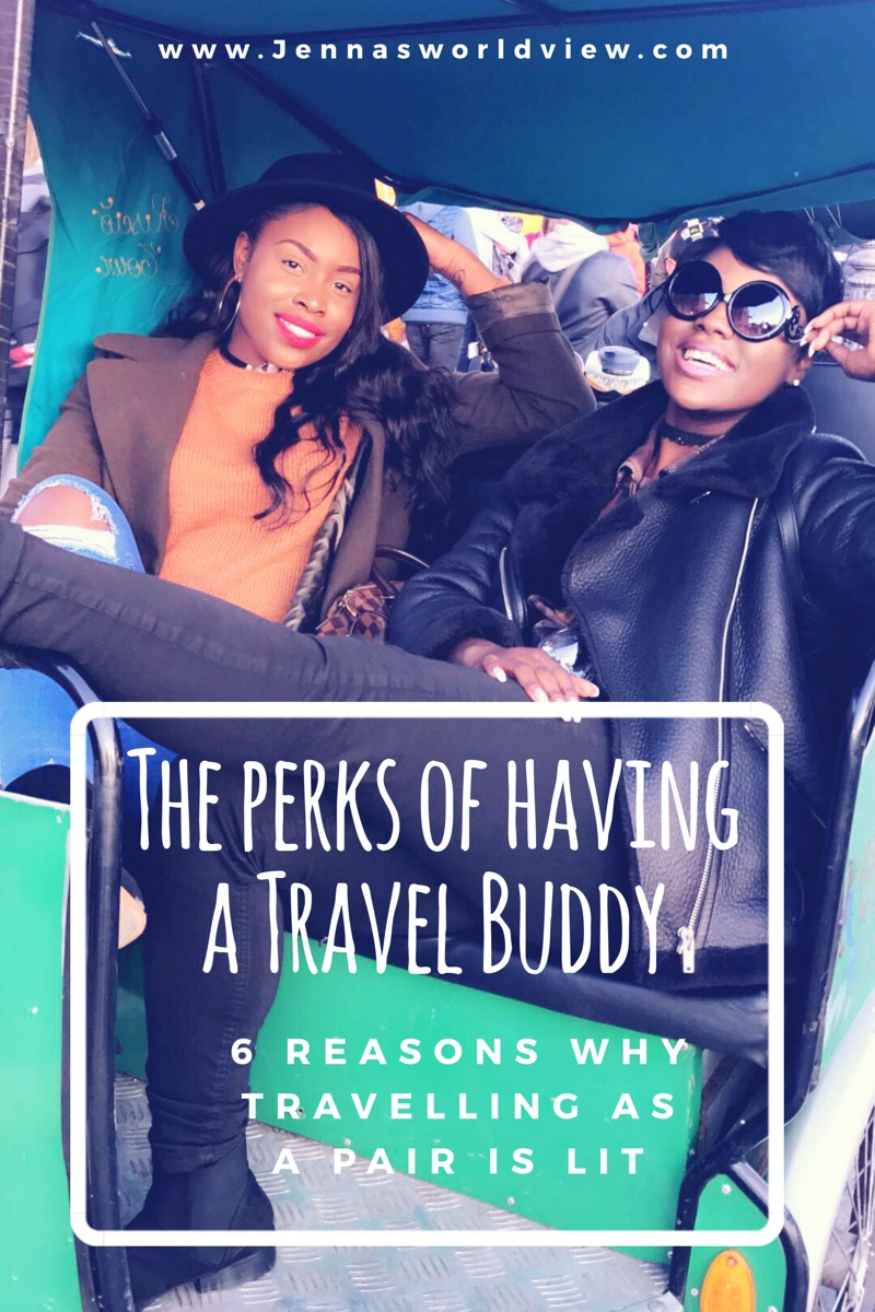 The perks of having a travel buddy