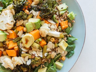 superfood salad healthy and easy madhava olive oil balsamic agave