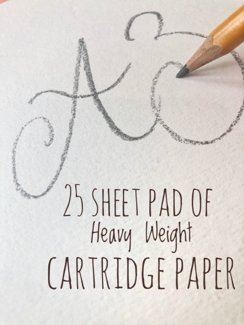 A3 Heavyweight Cartridge Paper - Lifestyle